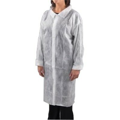 Visitors coats white XXL (Qty 50) Disposable