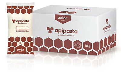 APIPASTA 1KG  Fondant + added Vitamins and Proteins - BEE KEEPING FEED / FOOD
