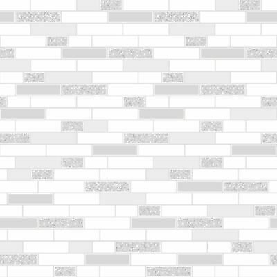 Grey Oblong Granite Tile Wallpaper Holden 89193 - Kitchen / Bathroom New