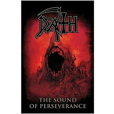 DEATH The sound of perseverence Textile Poster Flag