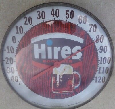 Nice Hires Root Beer Advertising Sign Thermometer