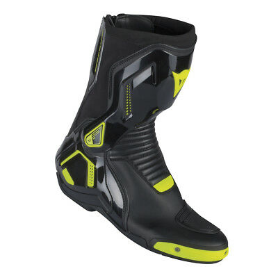 Dainese Course D1 Out Boots (Black/Yellow)