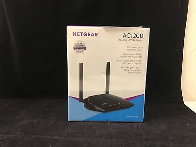 NETGEAR AC1200 DUAL Band Wireless Wifi Router R6120 - New Sealed