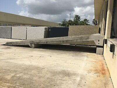 Concrete Ramp 30 foot total length, 48 inches high; West Palm Beach area
