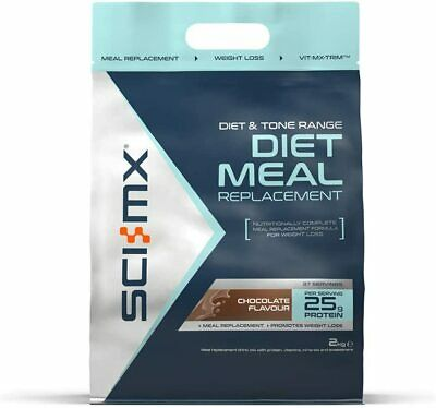 Sci-Mx Diet Meal Replacement 2KG Shake Weight Loss Shakes Slim Whey Protein Fast