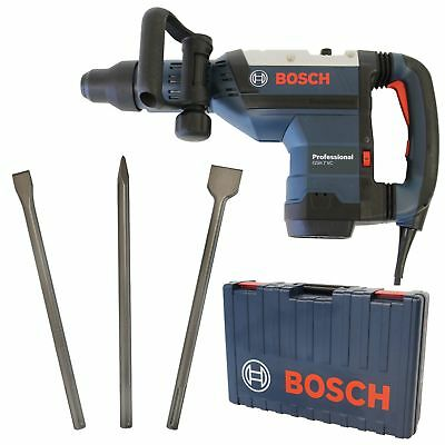 Bosch SDS-max-Schlaghammer GSH 7 VC Professional+ Bosch SDS-MAX Meisselset 3-tlg