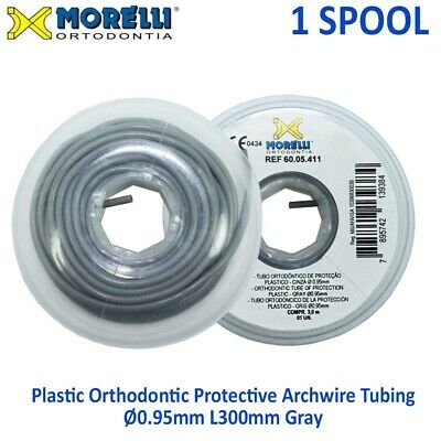 Dental Morelli Orthodontic Elastic Archwire Protective Protection Tube Ø0.95mm