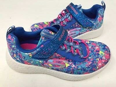 Skechers Youth Girl/'s BURST EQUINOX Shoes Black//Hot Pink #81906L 8S1 z NEW