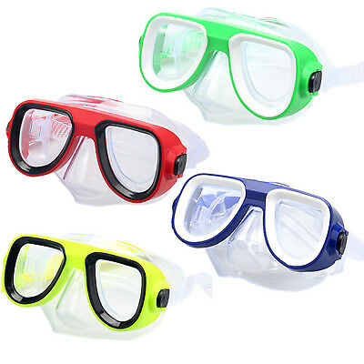 Summer Kids PVC Swimming Diving Glasses Scuba Anti-Fog Goggles Mask Snorkel Set