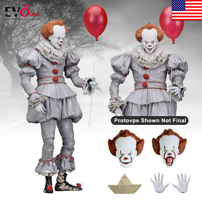 """IT Pennywise 2017 Film Ultimate 7"""" Scale Action Figure NECA"""