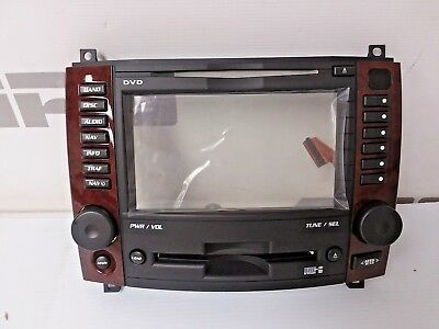 New Factory 2003-2007 Cadillac CTS Navigation CD audio display screen bezel