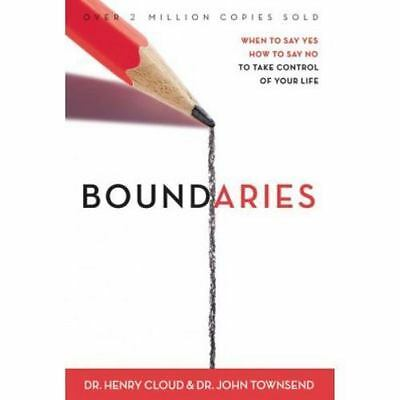 BOUNDARIES by Henry Cloud, John Townsend a hardcover book FREE SHIP self-help