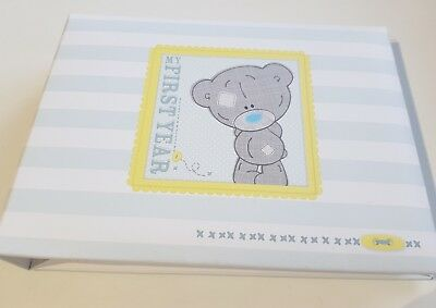 Tatty Teddy My First Year Baby Photo Album 600 Picclick Uk