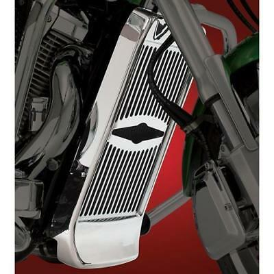 Show Chrome - 55-145A - Radiator Grille, Celestar with Scooped Cowl VTX1800