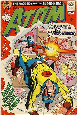 THE ATOM #36 1968 FN+ GOLDEN AGE Earth-Two ATOM X-OVER Gil Kane