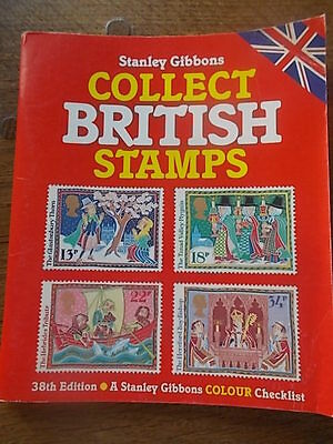 Stanley Gibbons Collect British Stamps 1988 38th Edition Colour Checklist