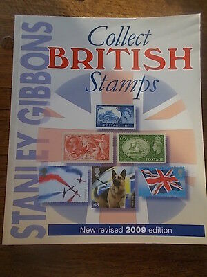Stanley Gibbons Collect British Stamps New Revised 2009 Ed Colour Checklist