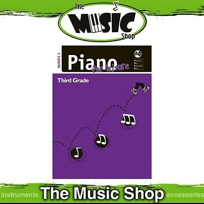 New AMEB Piano for Leisure: Series 3 Grade 3 Music Tuition Book (Third Grade)
