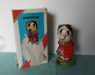 LOONEY TUNES  PETUNIA PIG  5 inch Decanter with Tag and Box ITALY