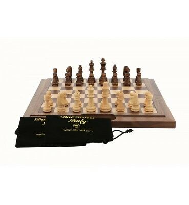 Dal Rossi 40 cm Chess Walnut Folding Bevelled Edge With Handle NEW!