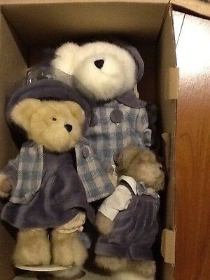 Boyds Bears TJ's Best Dressed 3 Piece Limited Ed Momma Bearsworth New Free Ship