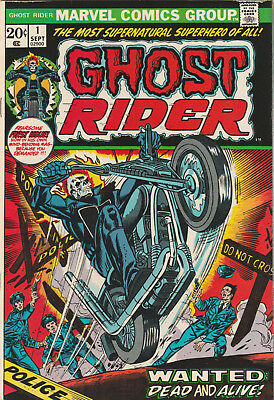 Ghost Rider #1 FN/VF 1973 Marvel Comics key issue 1st appearance Son of Satan