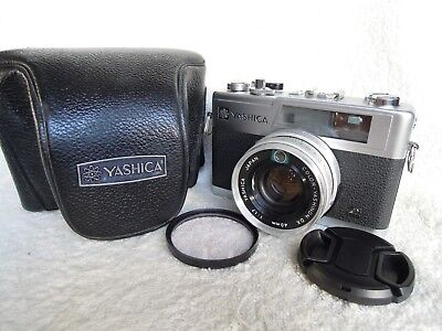 【EXC+++++】Yashica Electro 35 GX 35mm Rangefinder Film Camera  w/Case,from Japan