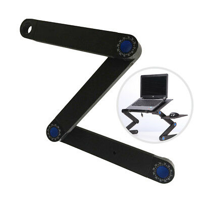 Adjustable Desk Laptop Table Portable Notebook Folding Stand Tray Bed USA