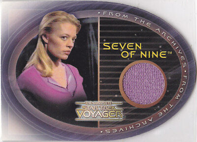 Star Trek Complete Voyager Cc1 Jeri Ryan Seven Of Nine 7Of9 Costume *Rare*