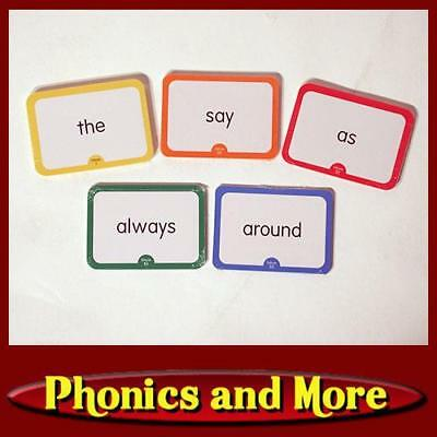 hooked on phonics 1998 now deluxe word flash cards sealed