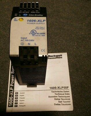 Allen-Bradley 1606-XLP50F 48-56VDC Power Supply