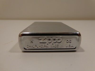 Genuine ZIPPO  High Polish Chrome WIND PROOF Lighter Model# 250 FREE SHIPPING!!!
