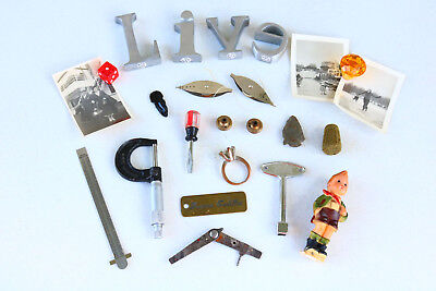 Junk Drawer Lot Mixed Items Estate Cleanout RESELLERS Grab Bag Unusual Stuff