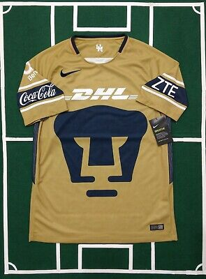 7fe70c3b475 Nike Pumas Unam Jersey Third Gala 2017 18 Short Sleeves Authentic 847310-711