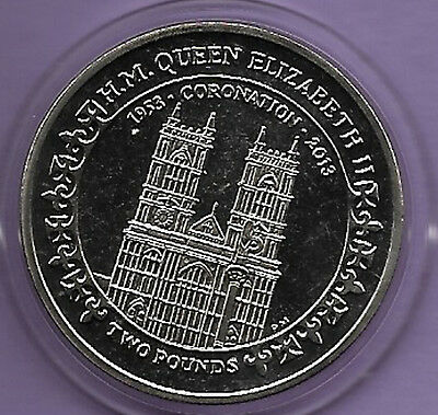British Indian Ocean Territory 2013 £2 60th Anniversary if the Coronation