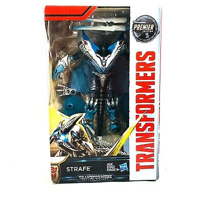 Transformers The Last Knight Premier Edition Deluxe STRAFE (light Wear on box)