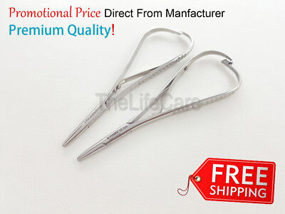 Standard Mathieu Needle Holder 14 cm Dental Orthodontic Surgical Instruments 2x