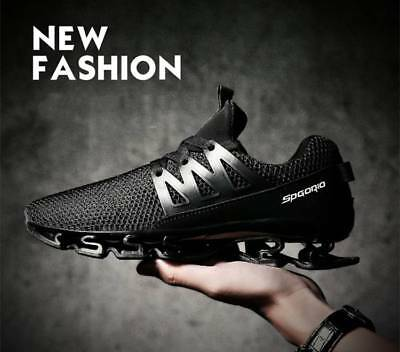 Mens Gym Trainers Outdoor Breathable Casual Comfy Sport Athletic Running Shoes