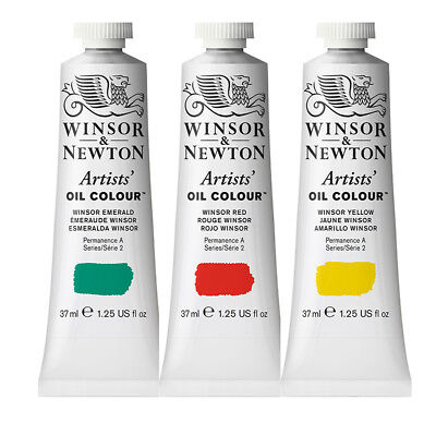 Winsor & Newton Artists' Oil Colour Series2 - 37ml tubes