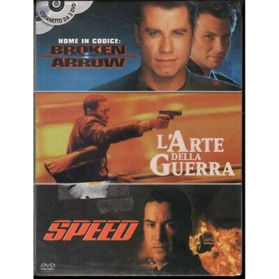 Action / Broken Arrow / L'Arte Della Guerra / Speed DVD Sigillato 8010312056352