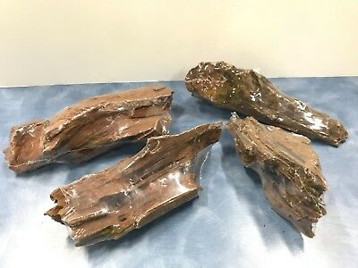 Aquarium Driftwood Assorted 19-23cm Natural Real Wood Terrarium 1 piece