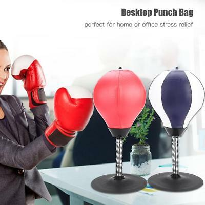 Office Desktop Punch Bag Punching Speed Ball Boxing Training Stress Relief  Gift