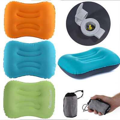 Portable Ultralight Inflatable Air Pillow Cushion Travel Hike Camping Sleep Cozy