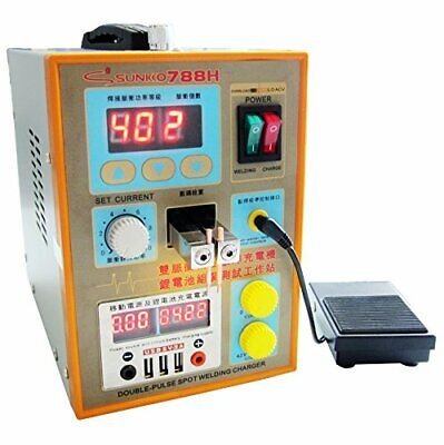 SUNKKO Upgrade S788H-USB Preciston Pulse Spot Welder for battery 0.1-0.2mm 110V