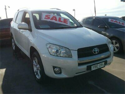 2011 Toyota RAV4 ACA38R MY11 Altitude (2WD) Pearl White Manual 5sp M Wagon
