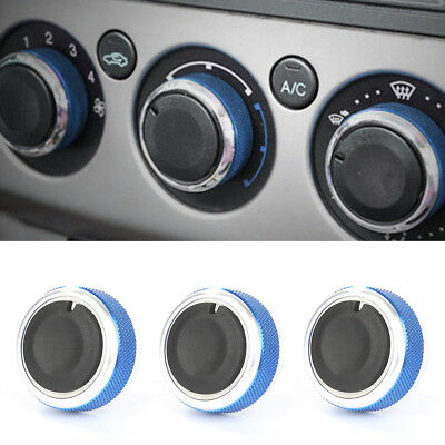 3x Car Air Conditioner Control Knobs Buttons Switch For Ford Focus UK Seller
