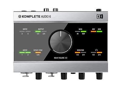 Native Instruments KOMPLETE AUDIO 6 Audio Interface 6 in / 6 out From Japan NEW