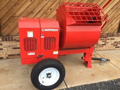 Brand New 7Cf Multiquip Towable Mortar Mixer