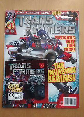Transformers Robots in Disguise Comics Issue 1 published by Titan Comics