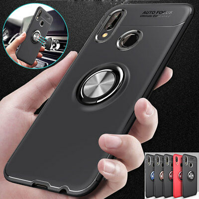 Hybrid Armor Ring Stand Case for Huawei Mate10/P20 Lite/Nova 3i Shockproof Cover